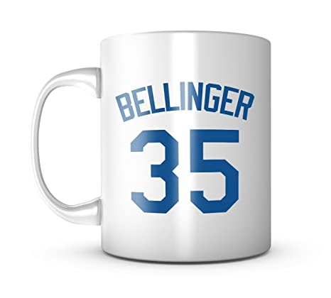 half off 569e7 67120 Cody Bellinger Mug - Jersey Number Baseball Coffee Cup at ...
