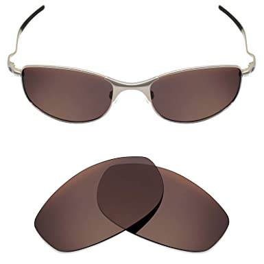 b85afab200c Mryok Polarized Replacement Lenses for Oakley Tightrope - Bronze Brown   Amazon.co.uk  Clothing