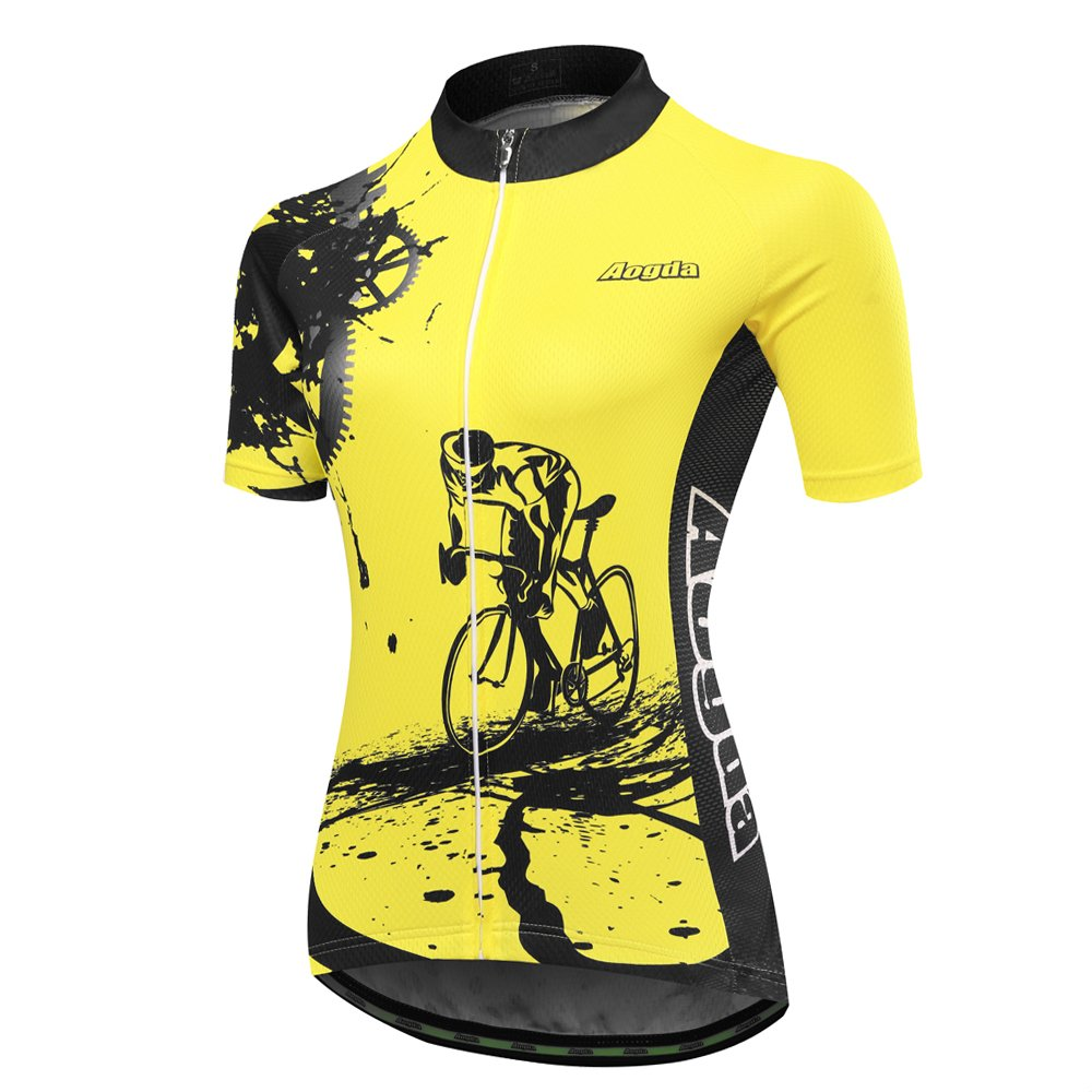 b3fd6333641 Jersey Material: 100% Polyester; Shorts Material: 80% Polyester and 20%  Lycra Pad Style:QA GEL Breathable Pad Breathable mesh clothes make your  cycling more ...