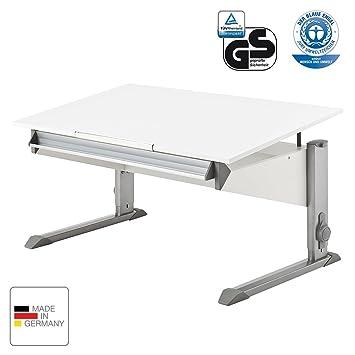 Moll Schreibtisch Bandit Weiß Amazonde Küche Haushalt