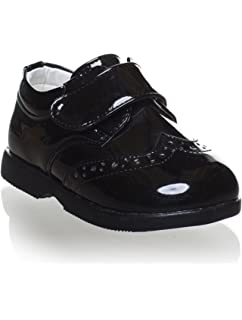Meckior Toddler Baby Girls Mary Jane Shoes Classic PU Leather Moccasins Ballet Flats with Bowknot Wedding Loafers Brogue Infant Dress Crib Church Shoe 3-24 Months 12-18 Months Toddler, B//Black