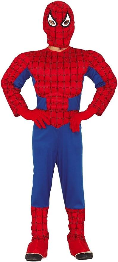 FIESTAS GUIRCA Disfraz de araña musculosa para niño araña: Amazon ...