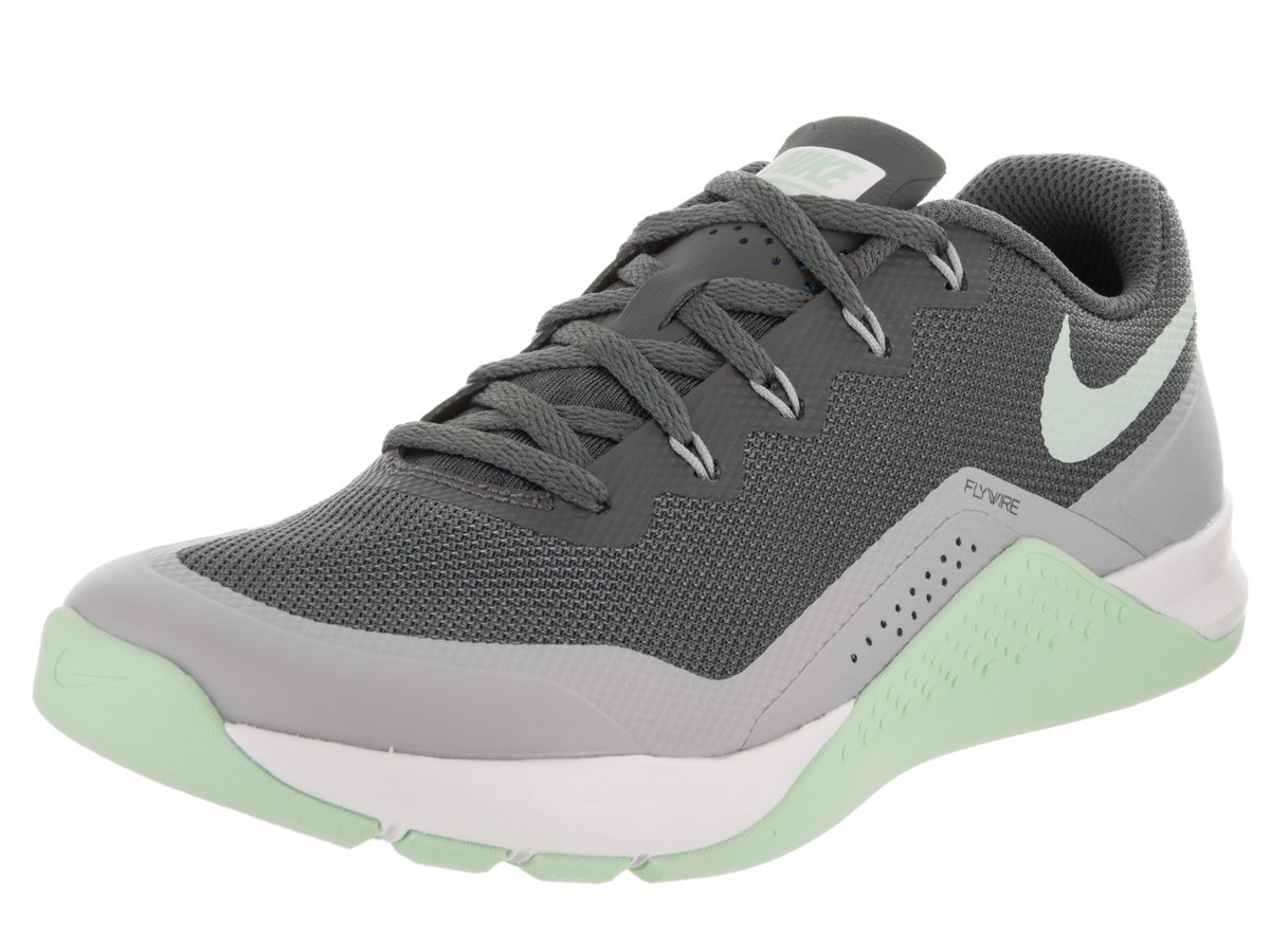 NIKE Women's Metcon Repper DSX Cross Trainer B009N94O6A 7.5 M US|Dark Grey/Arctic Green