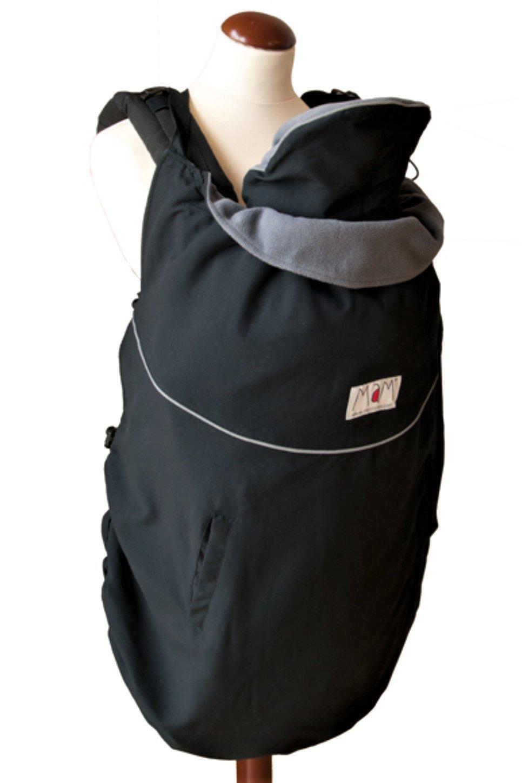 manduca by MaM Cold Weather Insert (Fleece Cover) > Unique 4-Point-Star Trennbar Polar-Fleece petrol - sand 199-71-15-000