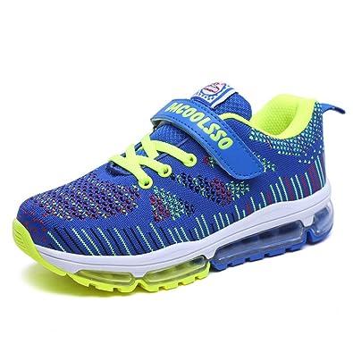 Zapatillas para niño Zapatos de Deporte para Niña Velcro Trainers Zapatillas Ligeras Transpirables Zapatillas para Caminar al Aire Libre: Amazon.es: Zapatos ...