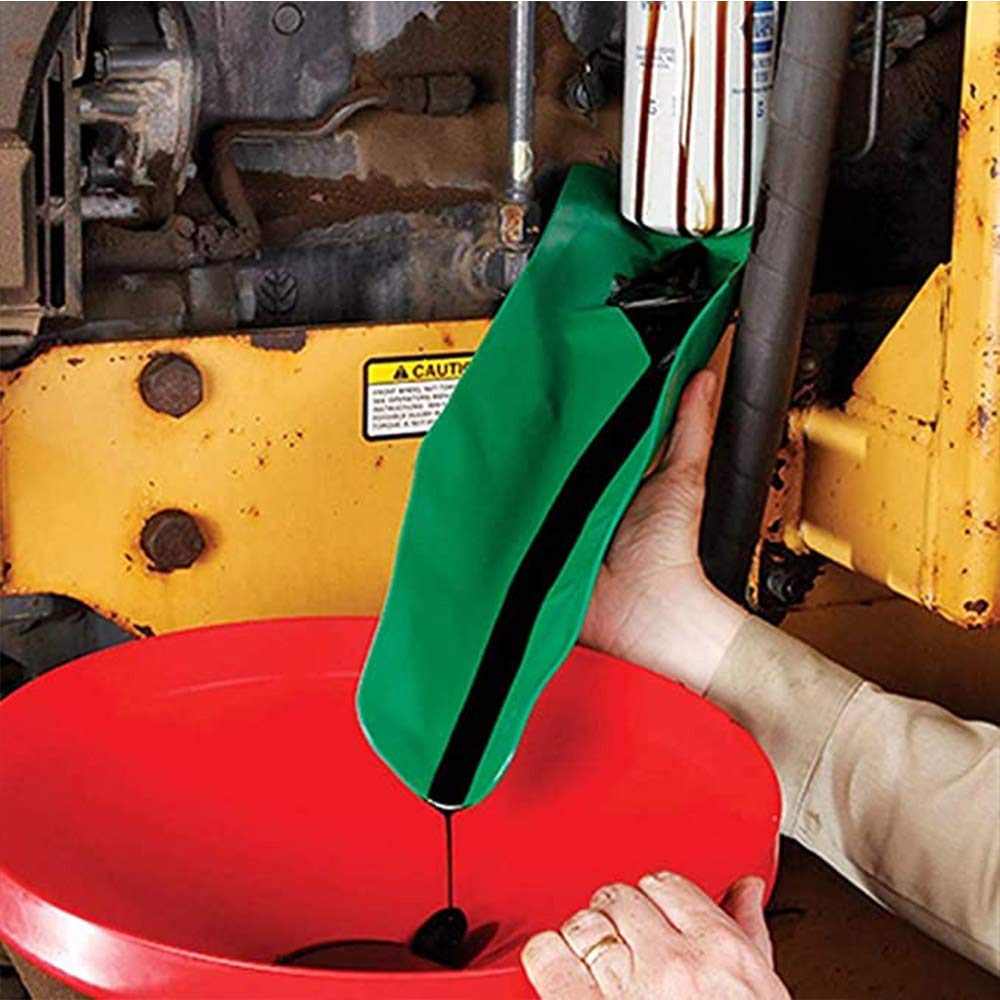 Aceite de Embudo de Uso General Moldeable Aditivo De Aceite De La Motocicleta Granja M/áquina del Coche Motor De Gasolina L/íquida JUNSHUO Herramienta De Drenaje Flexible Embudo S