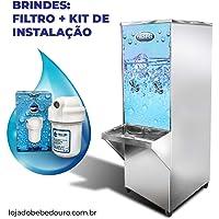 Bebedouro Refrigerador Industrial 50 Litros Frisbel Inox com Garantia