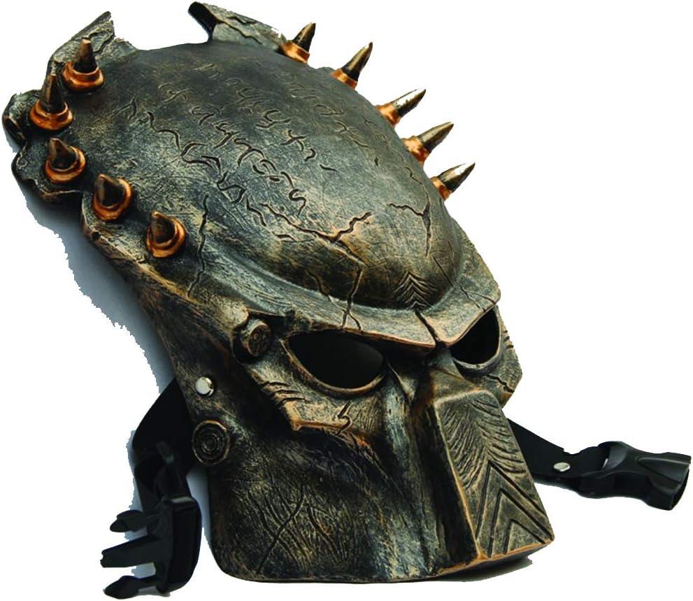 LIULINAN Máscara De Horror Halloween Mascara Depredador Lone Wolf ...