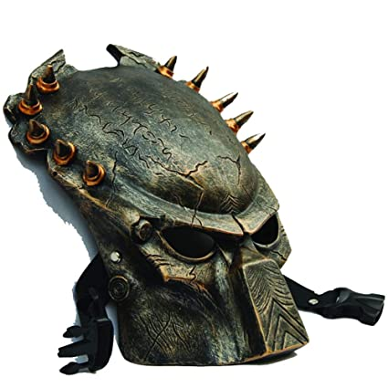 LIULINAN Máscara De Horror Halloween Mascara Depredador Lone Wolf Predator Máscara Espeluznante