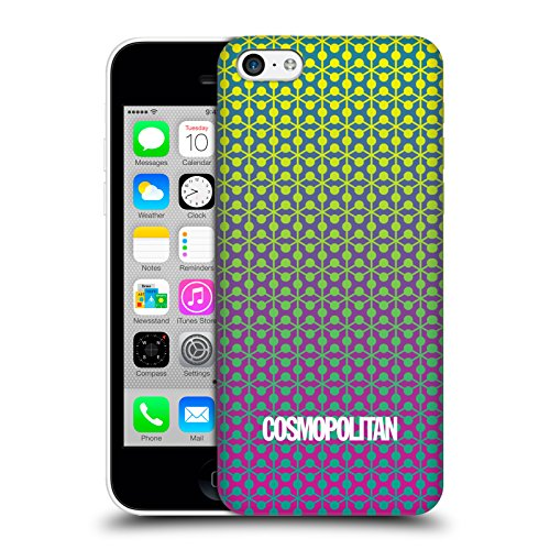 Official Cosmopolitan Ombre 6 Fun Summer Hard Back Case for Apple iPhone 5c