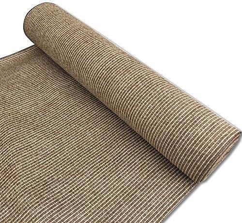 Alion Home Custom 180 GSM Sunblock Shade Fabric, 95 UV Block Breathable Mesh for Patio, Pergola, Greenhouse, Barn – No Grommets 10 x 50 , Walnut