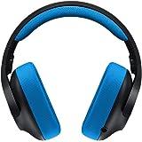 Logitech - G233 Prodigy Wired Gaming Headset - Blue/black (Renewed)