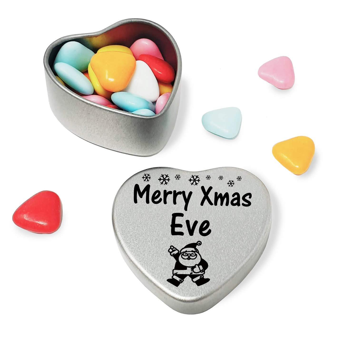 Merry Xmas Grant Mini Heart Tin Gift Present Happy Christmas Stocking Filler