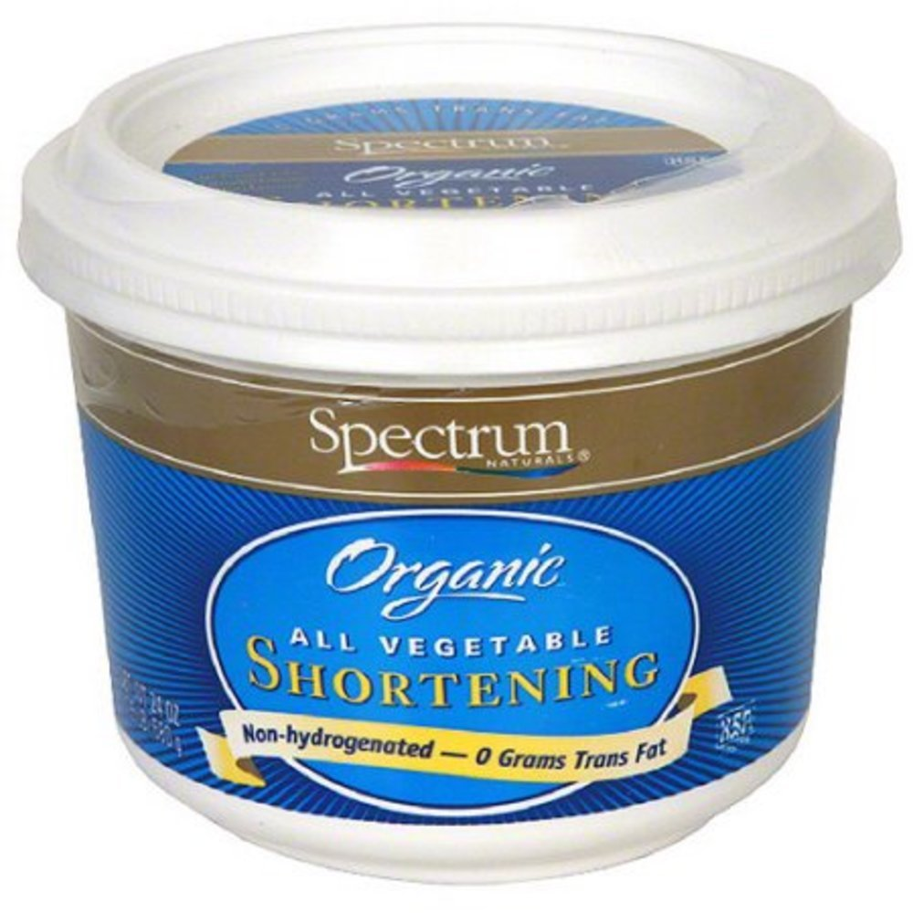 Spectrum Organic All Vegetable Shortening, 24 oz (Pack of 6)