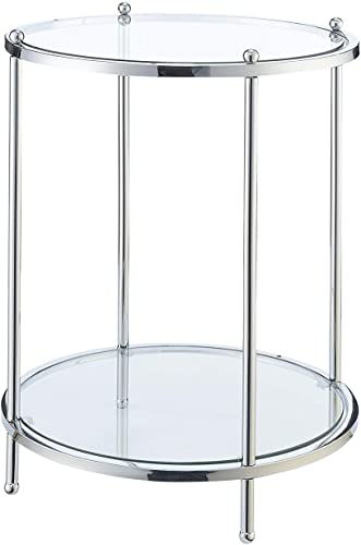 Convenience Concepts Royal Crest 2 Tier Round End Table