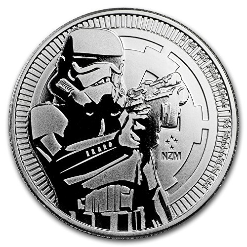 Star Wars Coin Set (NU 2018 STORM TROOPER STAR WARS 1OZ .999 FINE COIN LIMITED MINTAGE of 250,000 Brilliant Uncirculated)