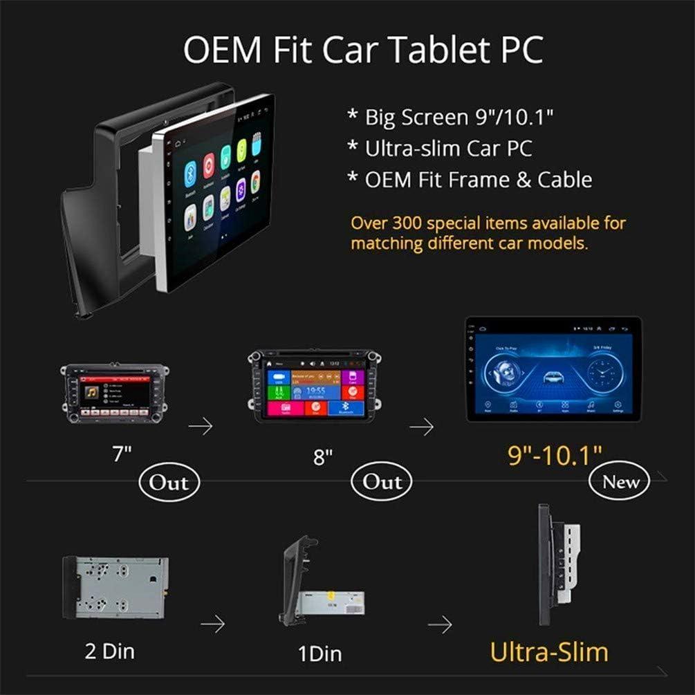 pour BMW X3 E83 2004-2012 Prise en Charge Bluetooth Contenant La Cam/éra//Le Chauffage De Voiture Autoradio Android 8.1 Lecteur Vid/éo Navigation GPS De Voiture De 9 Pouces