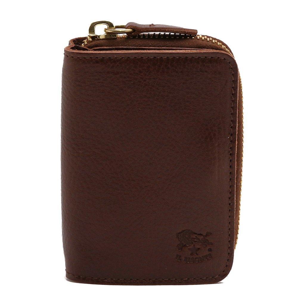 (イルビゾンテ) IL BISONTE 財布 コインケース カードケース WALLET COIN CASE CARD CASE 選べる6色 C0701 P/VACCHETTA B07CLX61QB 869/MARRONE 869/MARRONE -