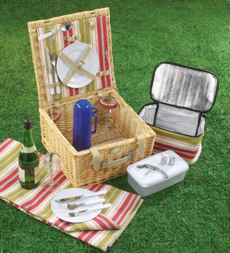 UPC 024409372858, Maxam® 18pc Picnic Basket Set