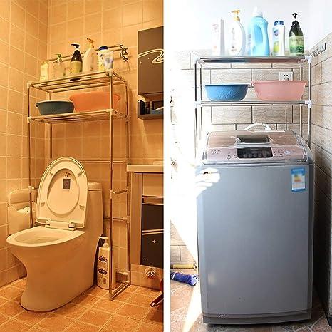 ZXL@ED Estante para inodoro Estante para lavamanos Estante ...