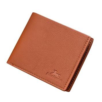 6e972a68db Il borsellino,portafoglio,borsa uomo,Borsellino portafogli multi posizione  in pelle PU da uomo, abbinato a un regalo: Amazon.it: Sport e tempo libero