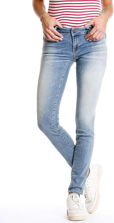 Meltin'Pot - Jeans Monie para Mujer, Ajuste Push up, Cintura Muy Baja