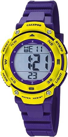 Calypso Reloj Digital para Unisex de Cuarzo con Correa en Plástico K5669/8