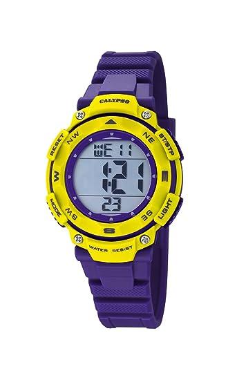Calypso Reloj Digital para Unisex de Cuarzo con Correa en Plástico K5669/8: Calypso: Amazon.es: Relojes