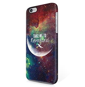 Take Me To Neverland Tumblr Quote Moon Space Galaxy Amazonde