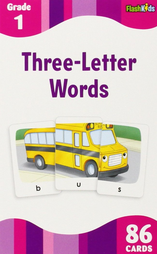 3 letter words flash kids flash cards flash kids editors 9781411434967 amazoncom books