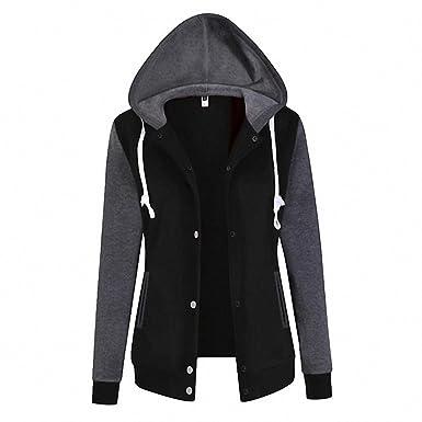 Causal Women Sweatshirts Hoodies Long Sleeve Hoody Baseball Hoodie Jacket Sudaderas Mujer Plus Size WS952E Black