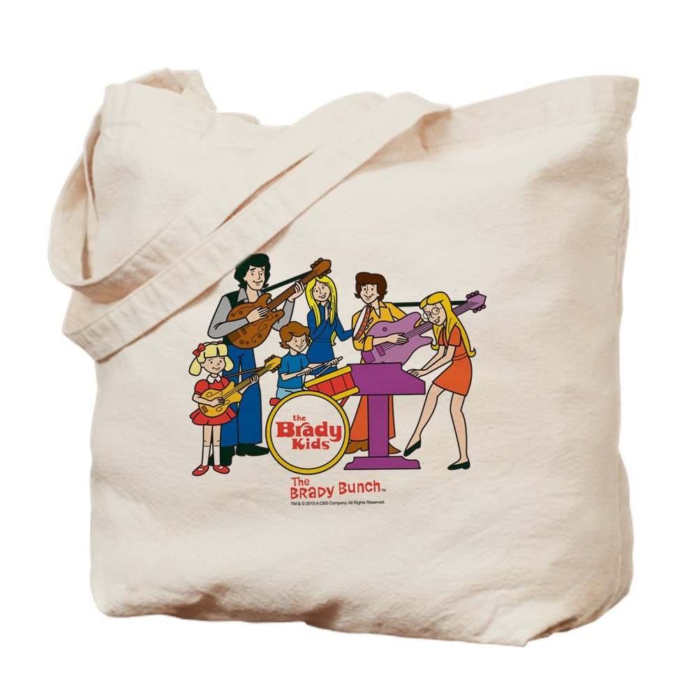 CafePress – the Brady Kids – ナチュラルキャンバストートバッグ、布ショッピングバッグ B01BYX75DG