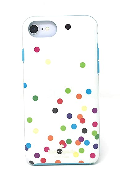 hot sales c8207 3fce0 Kate Spade New York Confetti Dots Multi Protective Rubber Case for iPhone 8  / iPhone 7 / iPhone 6s