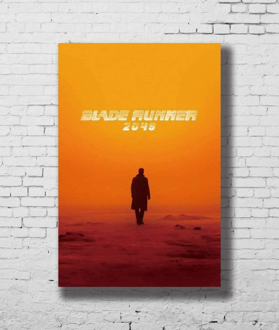 Poster Blade Runner 2049 Movie Paper Art Wall Poster - No Frame (16x24)