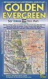 Golden Evergeen Trail Map, Kent Schulte, Rafal Jonca, 0982862601