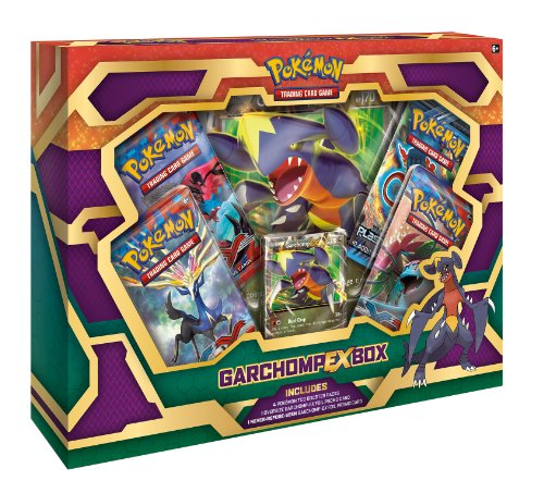 TCG: Pokemon, Garchomp-EX Box (Discontinued by manufacturer) Diabolical Box