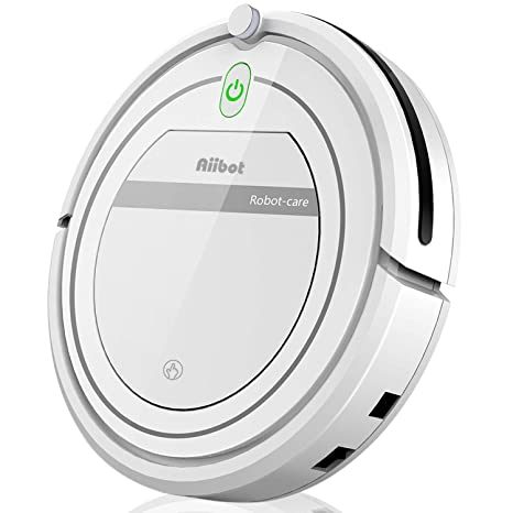 Aiibot Robot Aspirador Fuerte Succión,Silencioso,Control Remoto ...