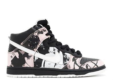 6fe9fcf2bfd4 Nike Dunk High Pro SB  Unkle  - 305050-013 Multi Size  9 UK  Amazon ...