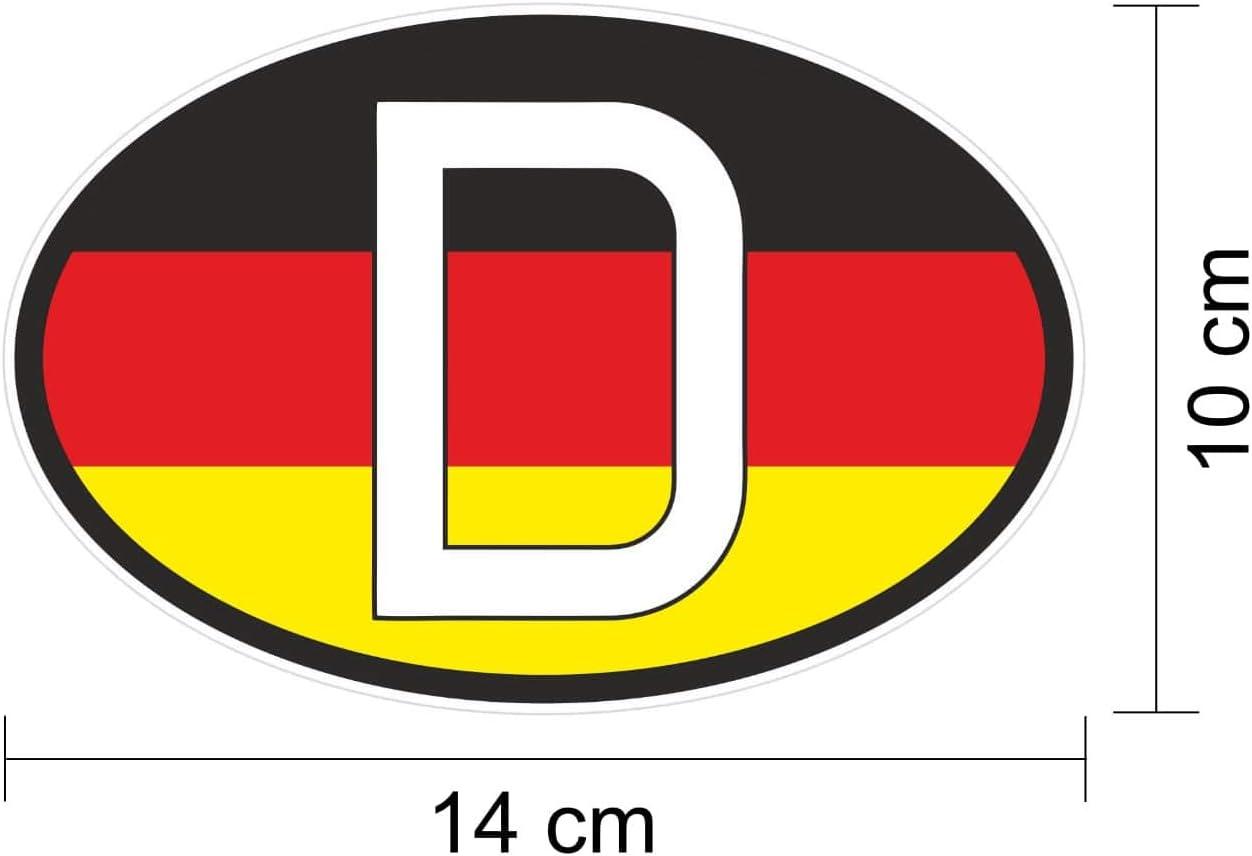 D de caracteres Matrícula D Pegatina para cartel Alemania de ...