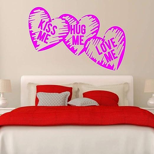 yaoxingfu Love Hearts Kiss Me Hug Me Love Me Marriage Room ...