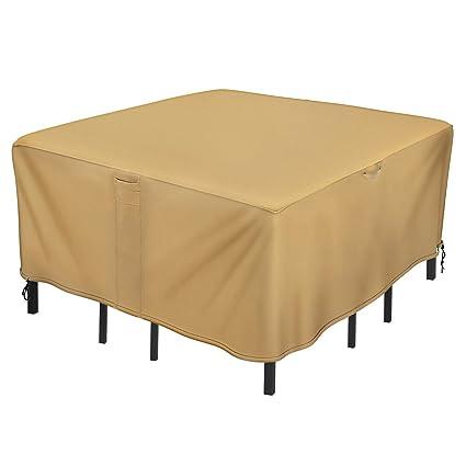 Amazon.com: Sunkorto - Funda para mesa de patio y silla ...