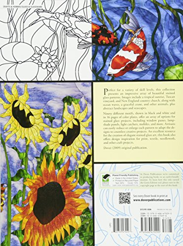 Natures Splendor Stained Glass Pattern Book