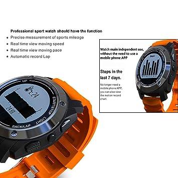 Actividad Tracker impermeable reloj inteligente, monitor de sueño ...