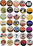 Two Rivers Mega Coffee Single-Cup Sampler Pack for Keurig K-Cup Brewers, 40 Count