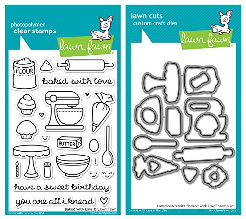 Lawn Fawn Baked Stamp Bundle product image