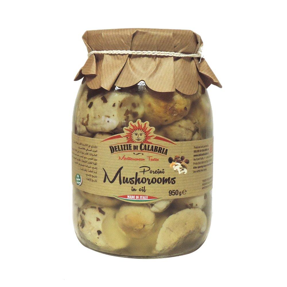 Delizie Di Calabria - Porcini Mushrooms in Olive Oil - 950g (Case of 6)