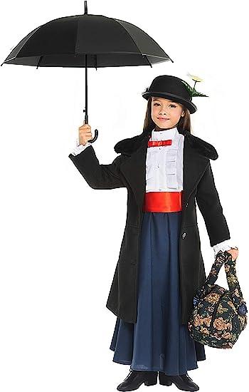 Costume Bambini Ragazza Donna di COSTUME CARNEVALE NERO BLU CARNEVALE