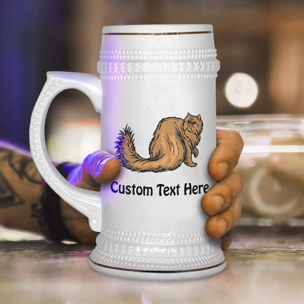 Lhasa Apso Dog Lover Gift Personalised Engraved Handmade Glass Tankard
