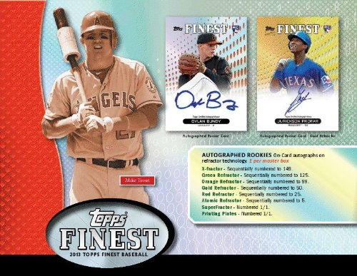 seball Hobby Box (1) On Card Autograph Rookie Refractor + (1) Autograph Jumbo Relic Rookie Card ) > 10/9 Ship Date ()