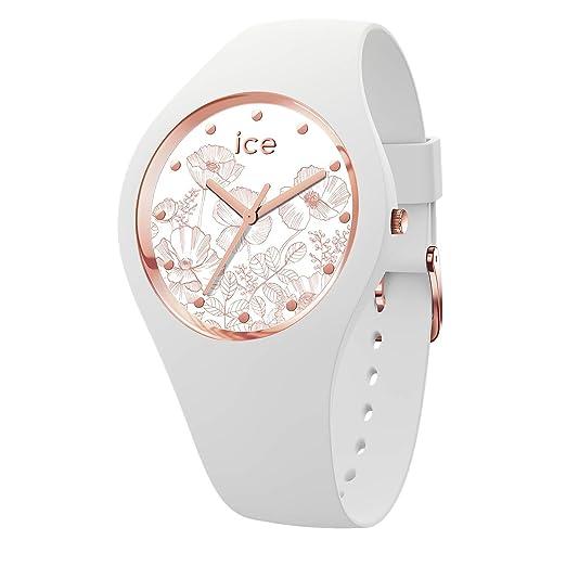 Ice-Watch Reloj Analógico para Mujer de Cuarzo con Correa en Silicona 016662: Amazon.es: Relojes